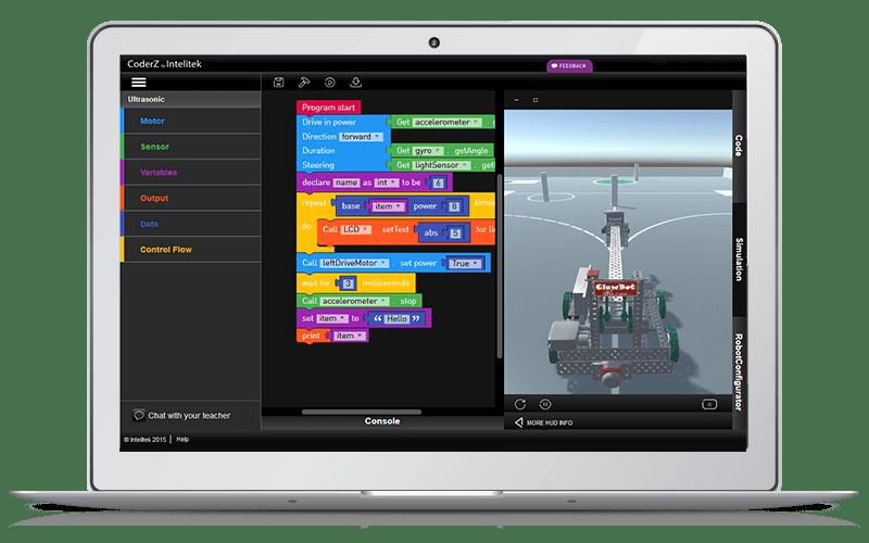 CoderZ on Computer Screen