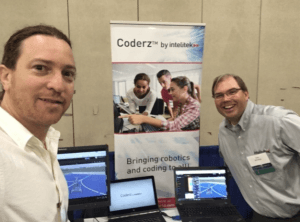 Adi Shmorak and CoderZ at the MA STEM Summit