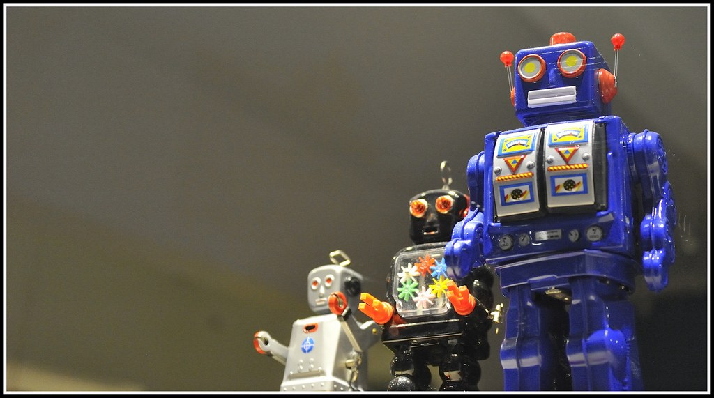3 cute robots CoderZ