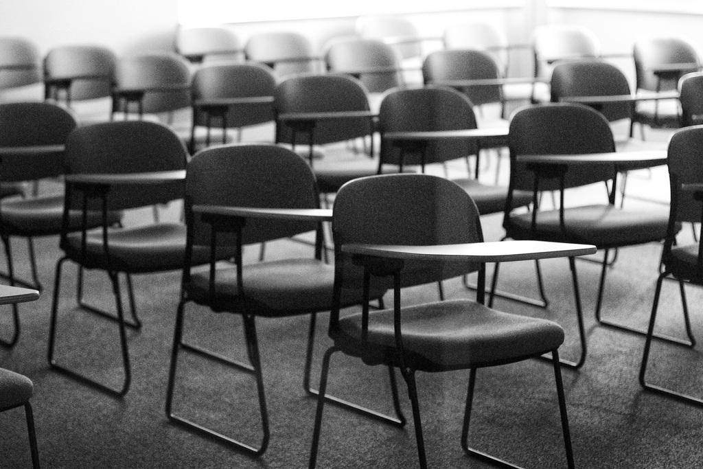old classroom b&w - CoderZ Blog