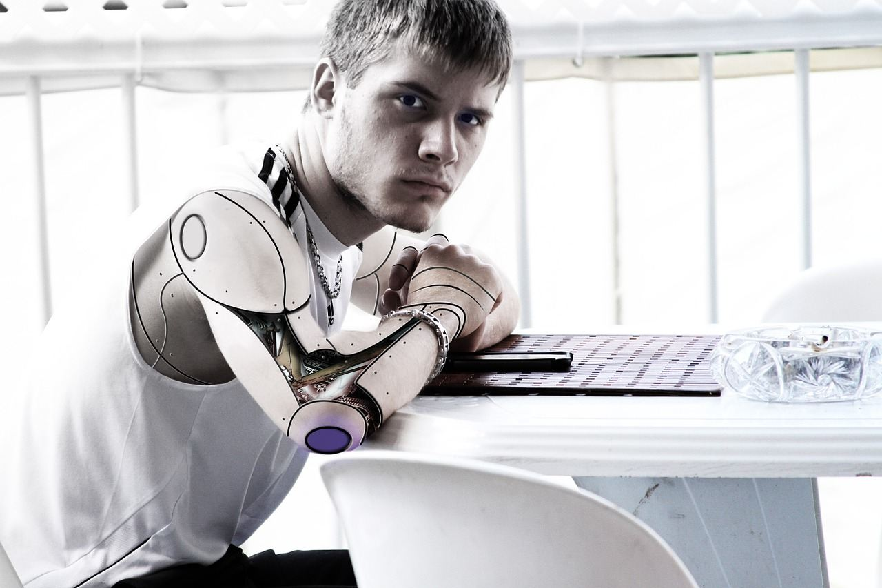 Robotic arm - Cyber robotics - Future education - CoderZ Blog - Pixabay free images