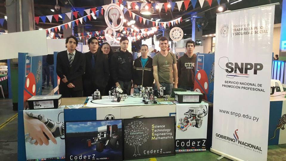 SNPP Paraguay Cyber Robotics CoderZ