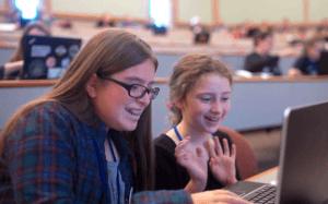 girls coding - girls in stem