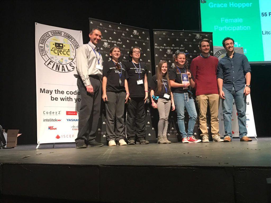 Litchfield Middle School Grace Hopper Award