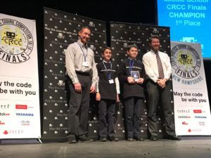 Thomas Aquinas School located in Dover first place
