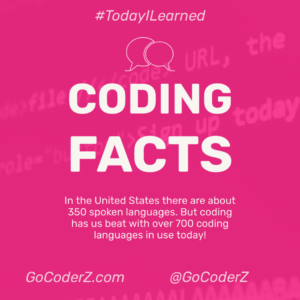 Coding Facts Infographic